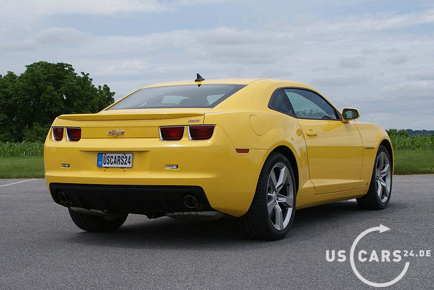 2010 Chevrolet Camaro Ss V8 Short Take Road Test