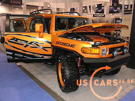 2007 Toyota Fj Cruiser Auf Der Sema Show 2006 In Las Vegas
