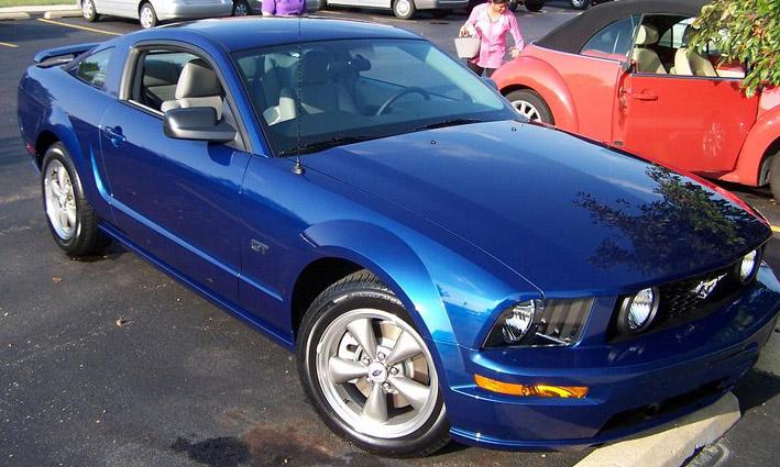 Mustang Blue Paint Code