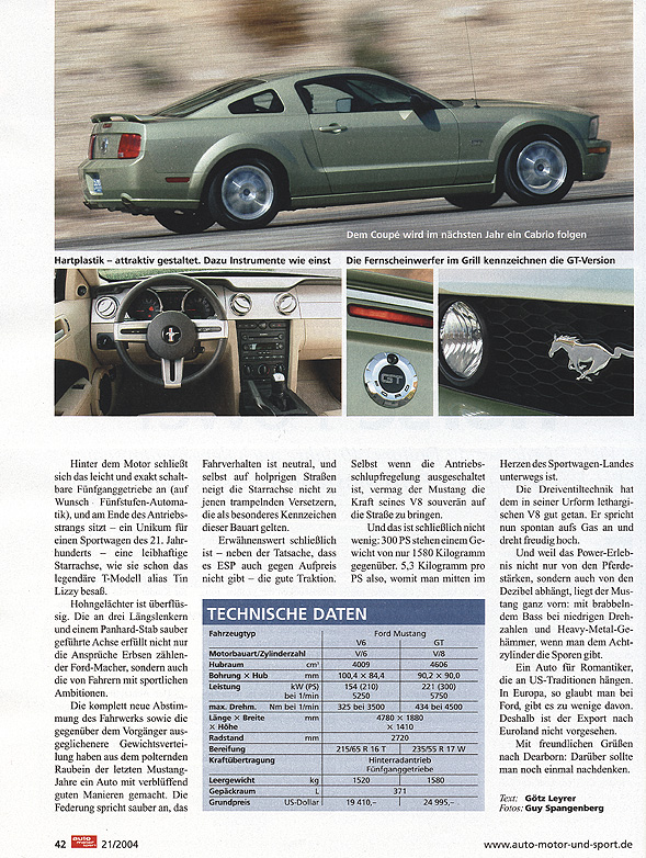 Artikel Auto Motor Und Sport